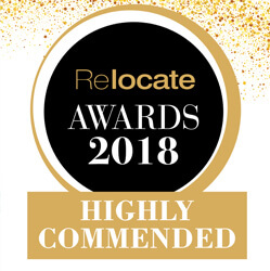 Relocate Awards 2018 Highly Commended